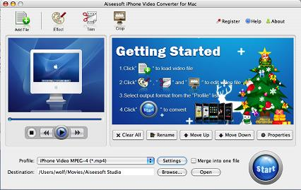 Mac iPhone Video Converter